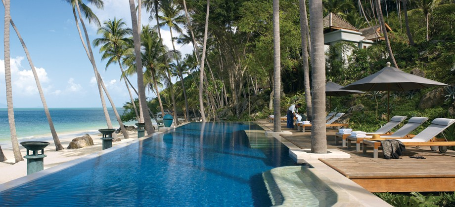 best luxury hotel in thailand four seasons resort koh samui